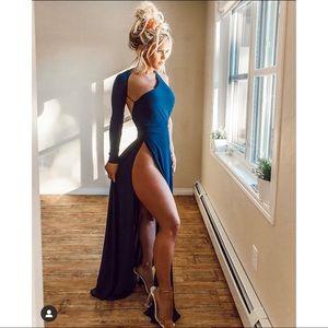 Fashion nova one shoulder dress